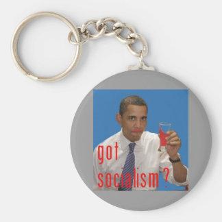 ¿socialismo conseguido? llavero redondo tipo pin