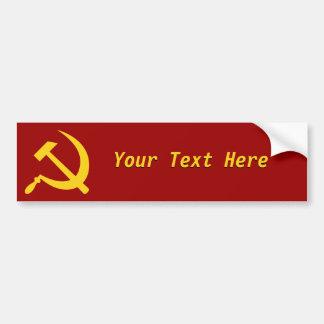 Socialismo: Cree sus los propios Pegatina De Parachoque