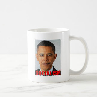 Socialismo de Prez Obama Taza