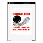 Socialismo la nueva esclavitud iPad 2 calcomanía