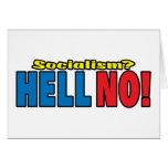 ¿Socialismo? ¡NO! Felicitación
