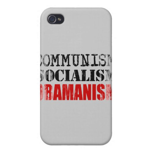 SOCIALISMO OBAMANISM Faded.png del COMUNISMO iPhone 4/4S Carcasa