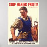 Socialismo - pare el lograr de beneficio: Proteste