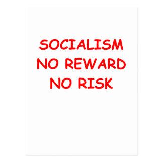 socialismo tarjetas postales
