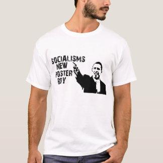 SOCIALISMS NEW POSTER BOY T-Shirt
