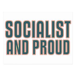 Socialist and Proud Postcard