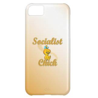 Socialist Chick iPhone 5C Cover