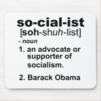 socialist definition mouse pad