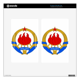 Socialist Federal Republic of Yugoslavia Emblem Kindle Fire Skins