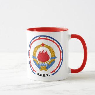 Socialist Federal Republic of Yugoslavia Emblem Mug