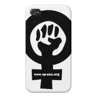 Socialist Feminist iPhone 4 Case