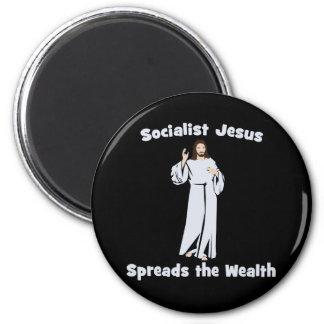 Socialist Jesus Spreads the Wealth Magnet