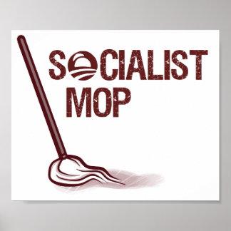 Socialist Mop Poster