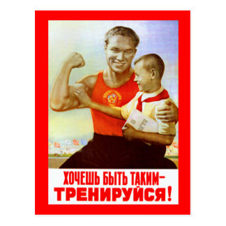 Socialist New Years Card 4 Postcard