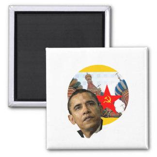 Socialist Obama Fridge Magnet