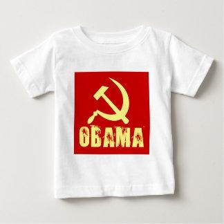 socialist obama women's dark shirt