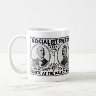 Socialist Party Candidates 1912 Coffee Mug