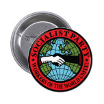SOCIALIST PARTY USA 2 INCH ROUND BUTTON