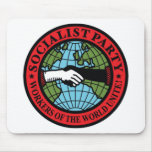SOCIALIST PARTY USA MOUSE PAD