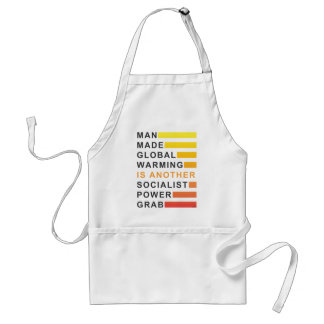 Socialist Power Grab Adult Apron