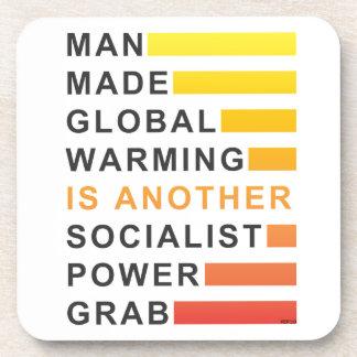 Socialist Power Grab Beverage Coaster
