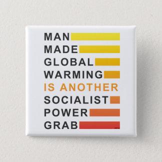 Socialist Power Grab Button