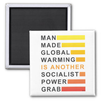 Socialist Power Grab Magnet