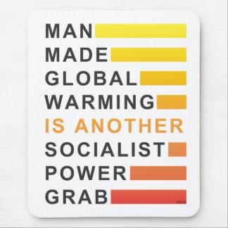 Socialist Power Grab Mouse Pad