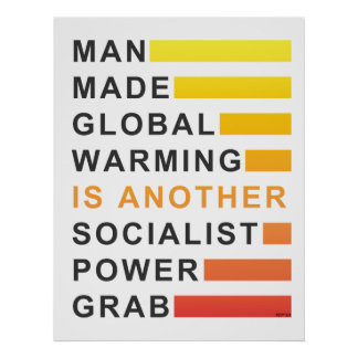 Socialist Power Grab Poster