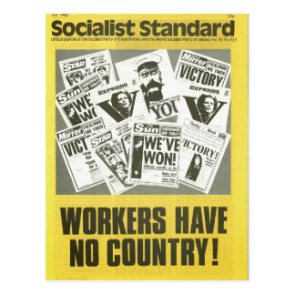 Socialist Standard July 1982 Postcard