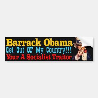Socialist Traitor Bumper Sticker