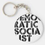 Socialista Democratic Llavero Personalizado
