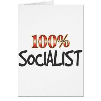 Socialista el 100 por ciento felicitación