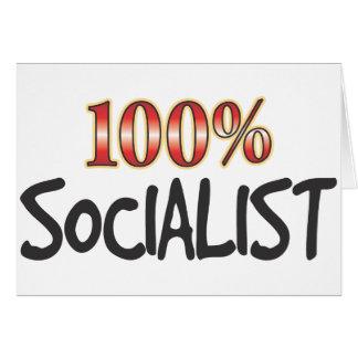 Socialista el 100 por ciento felicitacion