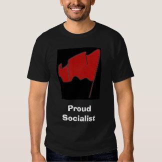Socialista orgulloso playera