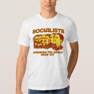 Socialistas: Extensión de la camisa de la riqueza