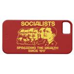 Socialistas: Extensión de la riqueza iPhone 5 Case-Mate Fundas