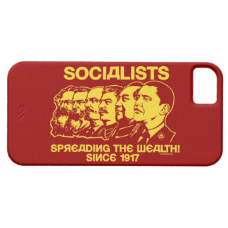 Socialistas Extensión de la riqueza iPhone 5 Case-Mate Fundas
