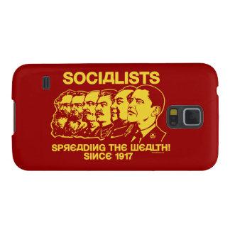 Socialistas: Extensión de la riqueza Fundas De Galaxy S5