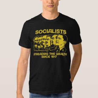 Socialistas: Extensión de la riqueza Playeras