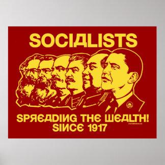 Socialistas: ¡Extensión de la riqueza! Poster