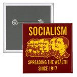 Socialistas: ¡Extensión del personalizable de la Pin Cuadrado