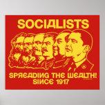 Socialistas: Extensión del poster de la riqueza