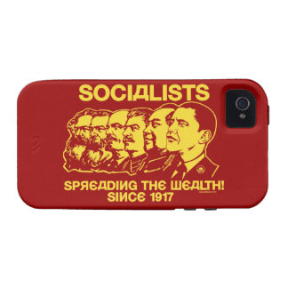 Socialists Spreading the Wealth Case-Mate iPhone 4 Cases