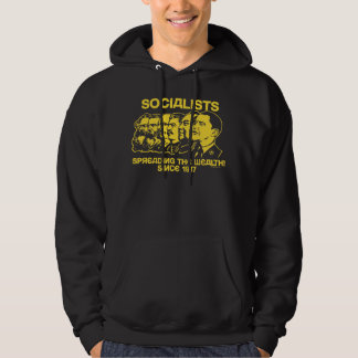 Socialists: Spreading the Wealth - Customized Hoodie