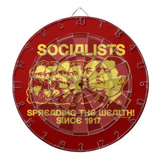 Socialists: Spreading the Wealth Dart Board Sets