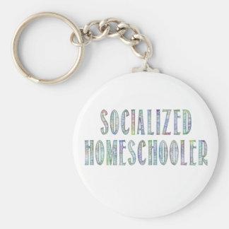 Socialized Homeschooler Keychains