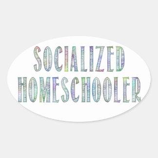 Socialized Homeschooler Sticker