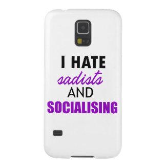 socializing design galaxy s5 case