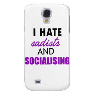 socializing design samsung galaxy s4 cover